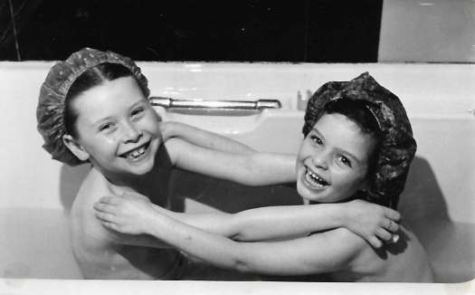 Gay and cousin share bath